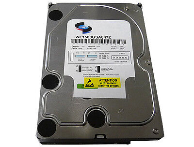 "1.5TB (1500GB) 7200RPM 64MB Cache 3.5"" Desktop SATA2 Hard Drive -DVR/CCTV/NAS/PC"