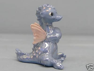 Hagen Renaker Blue Dragon With Wings
