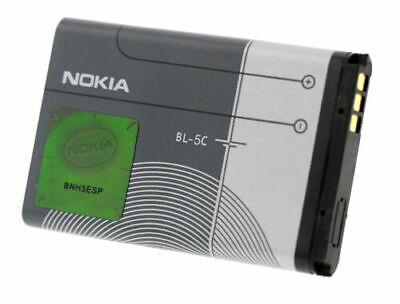 Original Handy Akku BL-5C mit Hologramm für Nokia 2330 2323c 2310 2300 1800 1680