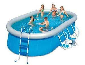 Swimming pool ebay for Grosse piscine gonflable