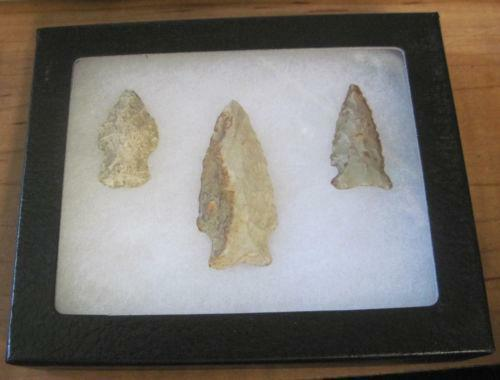 authentic arrowheads indiana artifacts ebay