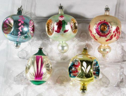 Large vintage christmas ornaments ebay for Large christmas decorations