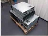 6 x Storage Arrays - 5 x Dell Powervault 220s & 1 x Network Appliance DS14 Mk2
