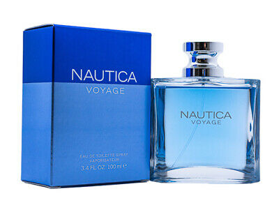 Nautica Voyage by Nautica 3.4 oz EDT Cologne for Men New In Box
