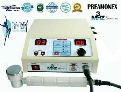 Therapeutic Ultrasound Therapy Pain Relief Machine 3mhz Physiotherapy Machine