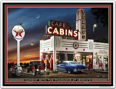 Hot Rod Art Print by Larry Grossman PRAISIN/' THE LOWER/'D