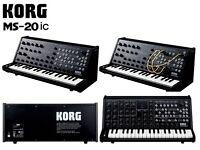 Korg MS20ic/M-AudioCode 49