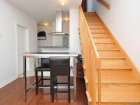 Loft style condo w/ private rooftop terasse, balcony and parking