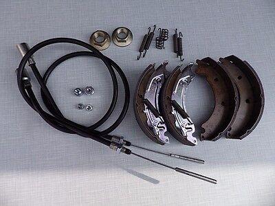 Knott 200x50 Bremsbacken Rep Set 20-2425/1 mit Seilen HL 730 M24 Flanschmuttern