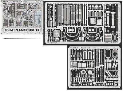 Eduard 1/32 F-4J Phantom II etch for Tamiya kit # 32530