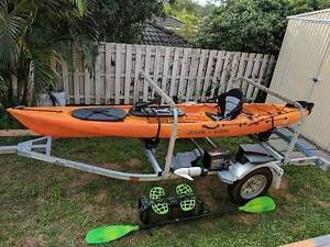 Ocean Kayak Torque / Hobie Tandem Trailer Bridgeman Downs Brisbane North East Preview