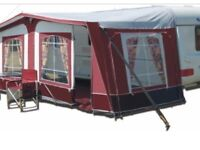 Caravan awning and accessories