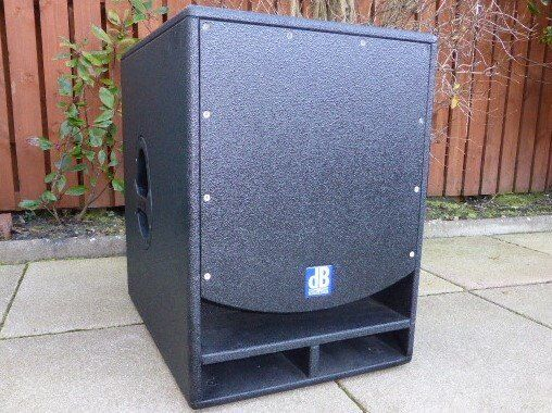 DB Technologies Opera Sub 15 Active Sub with Cover   in ...
