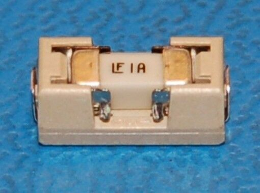 Littelfuse 154 Fast-Acting Surface-Mount Fuse & Holder, 125V, 1A