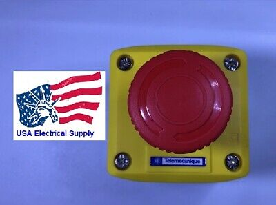 Telemecanique Xalk178 Complete Control Box Stop Push Button Switch Station Ncno