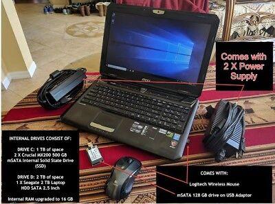 MSI G Series GT60 2OC-024US 15.6-In Laptop 2.4GHz Intel Core i7-4700MQ Processor