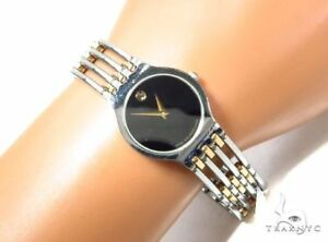 New Movado Esperanza Ladies Two Tone 0600456 Swiss Watch SRP $1395