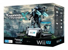 Wii U Xenoblades Chronicle console brand new limited edition