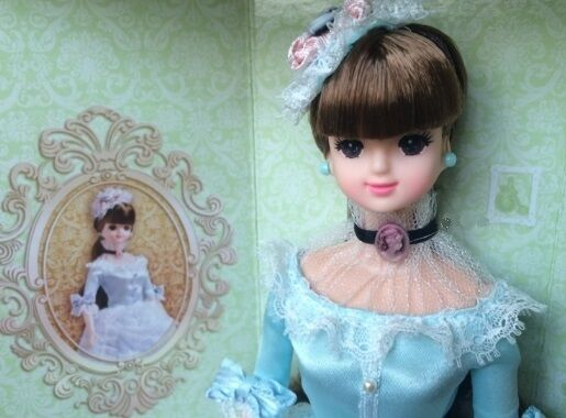 "Korean Barbie Doll Fashion Mimi  "" classic Mimi baroque ""  barbie size"