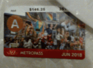 TTC Adult June Metro Pass