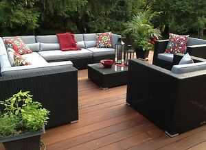 * END OF SEASON SALE * Patio Furniture Sectional Set Sale