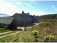 COALFIN HOUSE Self Catering Cottage Skipness Argyll family holiday Sea Views sleeps 11- dogs welcome