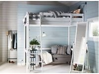 Ikea double bunkbed used for 1 year only
