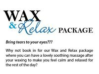 Wax & Relax Package