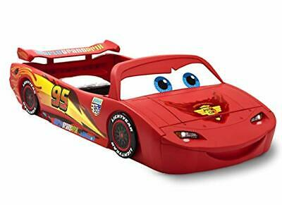 Cars Lightning Mcqueen Toddler Bed Kids Furniture Converts to Twin Size Race Car Lightning Mcqueen Furniture