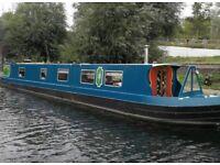 Narrow Boat Live Aboard London
