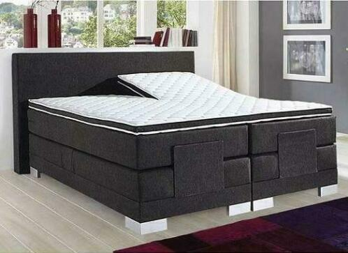 Electrisch Bed President 90 x 200 Detroit Black €599,- !