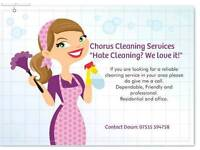 Chorus cleaning services residential and office
