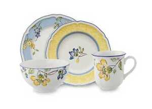 Place setting of Toscana by Villeroy and Boch
