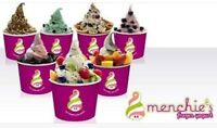 Menchie's mobile catering service