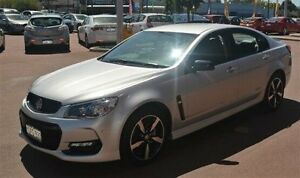 2016 Holden Commodore VF II MY16 SV6 Black Silver 6 Speed Sports Automatic Sedan Gosnells Gosnells Area Preview