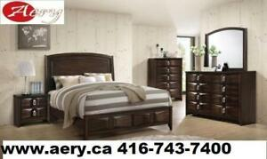 WHOLESALE FURNITURE WAREHOUSE LOWEST PRICE GUARANTEED WWW.AERYS.CA 6PCS BEDROOM SET QUEEN STARTS FROM $399