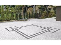 Driveways, patios, paving slabs, block paving - from £15/sq m, artificial grass - from £6/sq m