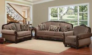 WOODEN SOFA SET SALE (ND 91)