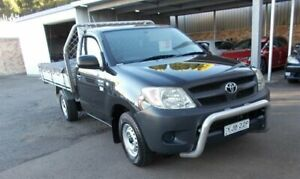 2007 Toyota Hilux TGN16R 06 Upgrade Workmate Ink 5 Speed Manual Cab Chassis Belmore Canterbury Area Preview