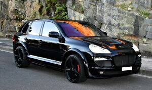 2008 Porsche Cayenne MY08 Turbo Black 6 Speed Tiptronic Wagon Concord Canada Bay Area Preview