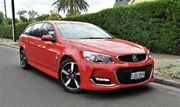 2017 Holden Commodore VF II MY17 SV6 Sportwagon Red 6 Speed Sports Automatic Wagon Medindie Walkerville Area Preview