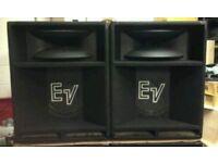 EV 1502 ER PRO PA SPEAKERS