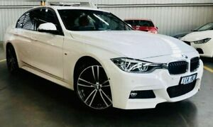 2016 BMW 3 Series F30 LCI 320d M Sport White 8 Speed Sports Automatic Sedan Port Melbourne Port Phillip Preview