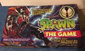 SPAWN THE BOARD GAME 100% COMPLETE NEVER USED