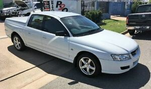 2007 Holden Commodore VZ MY06 White Automatic Dual Cab Garbutt Townsville City Preview