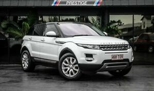 2014 Land Rover Range Rover Evoque LV MY14 TD4 Pure White 9 Speed Automatic Wagon Bowen Hills Brisbane North East Preview