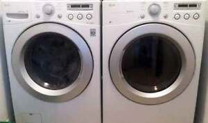 LG Front Load washer & Dryer with warrantly on washer.