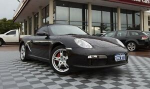 2007 Porsche Boxster 987 MY07 S Black 6 Speed Manual Convertible Alfred Cove Melville Area Preview