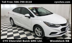 2017 Chevrolet Cruze LT - Heated Seats & Rear Camera - 0% Financ