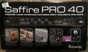Saffire Pro 40 Audio Interface